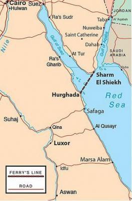 Fahre Zwischen Hurghada Und Sharm El Sheikh Mein Agypten