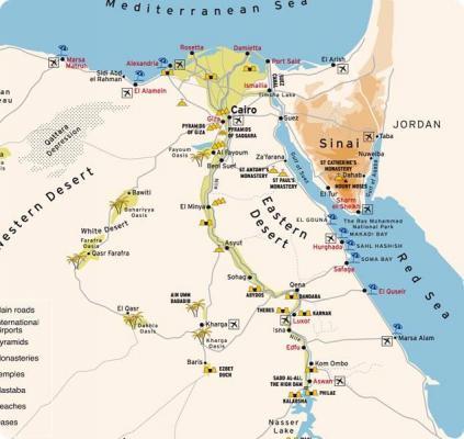 Karte ägypten Nil.Mit Dem Fahrrad Durch ägypten Mein ägypten